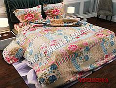 Двуспальный набор постельного белья 180*220 из Полиэстера №208 Черешенка™