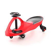 Машинка Бибикар с полиуретановыми колесами, красная (Bibicar) Bradex, фото 1