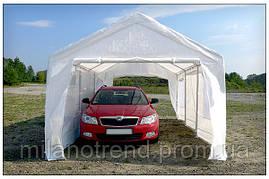 Палатка Гараж, Павильйон, Цвет белый, 3x6м, Полиэтилен