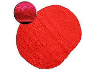 Ковер SHAGGY GALAXY красный овальный 120x170