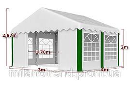 "Выставочная Палатка, для свадеб 3x4м, ""SUMMER"" PE 240гр/м2"