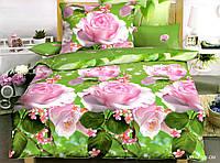 Двуспальный набор постельного белья 180*220 из Полиэстера №209 Черешенка™