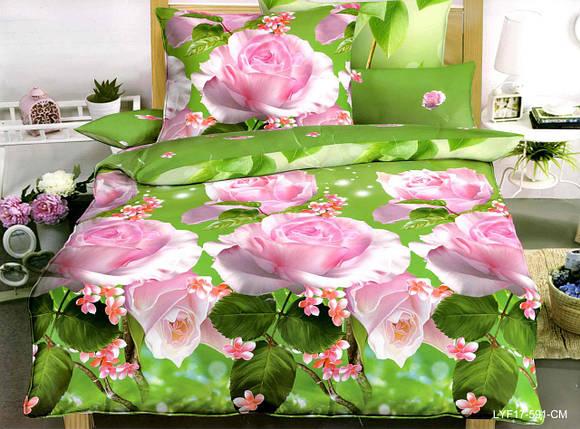 Двуспальный набор постельного белья 180*220 из Полиэстера №209 Черешенка™, фото 2