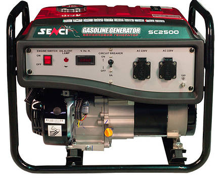Бензогенератор Senci SC2500-M, фото 2