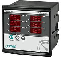 Мультиметр - вольтметр амперметр частотомер цифровой щитовой цена электронный шкаф мультиметры цифровые TENSE