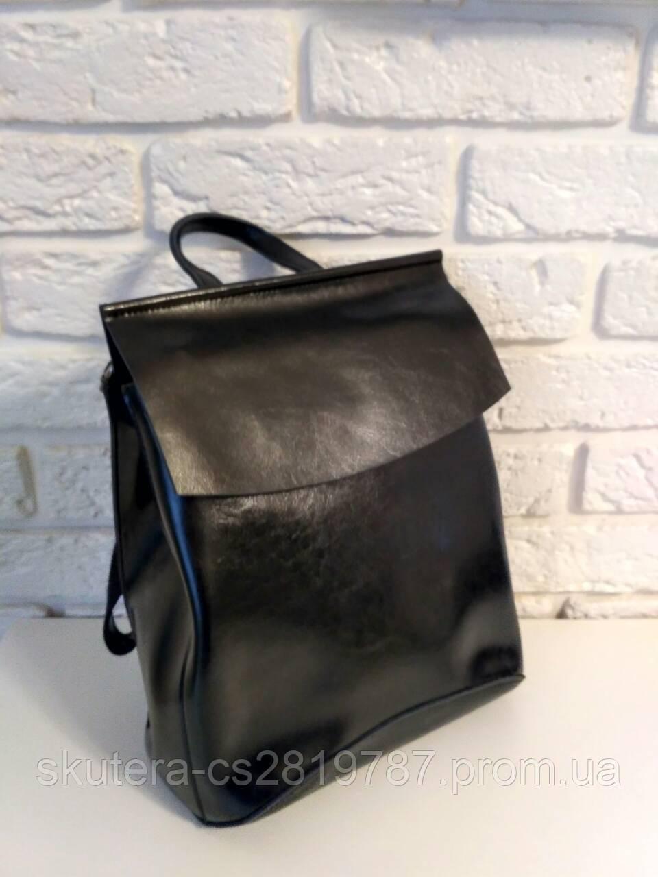 3a7180bafac9 Женский кожаный рюкзак-сумка(трансформер)