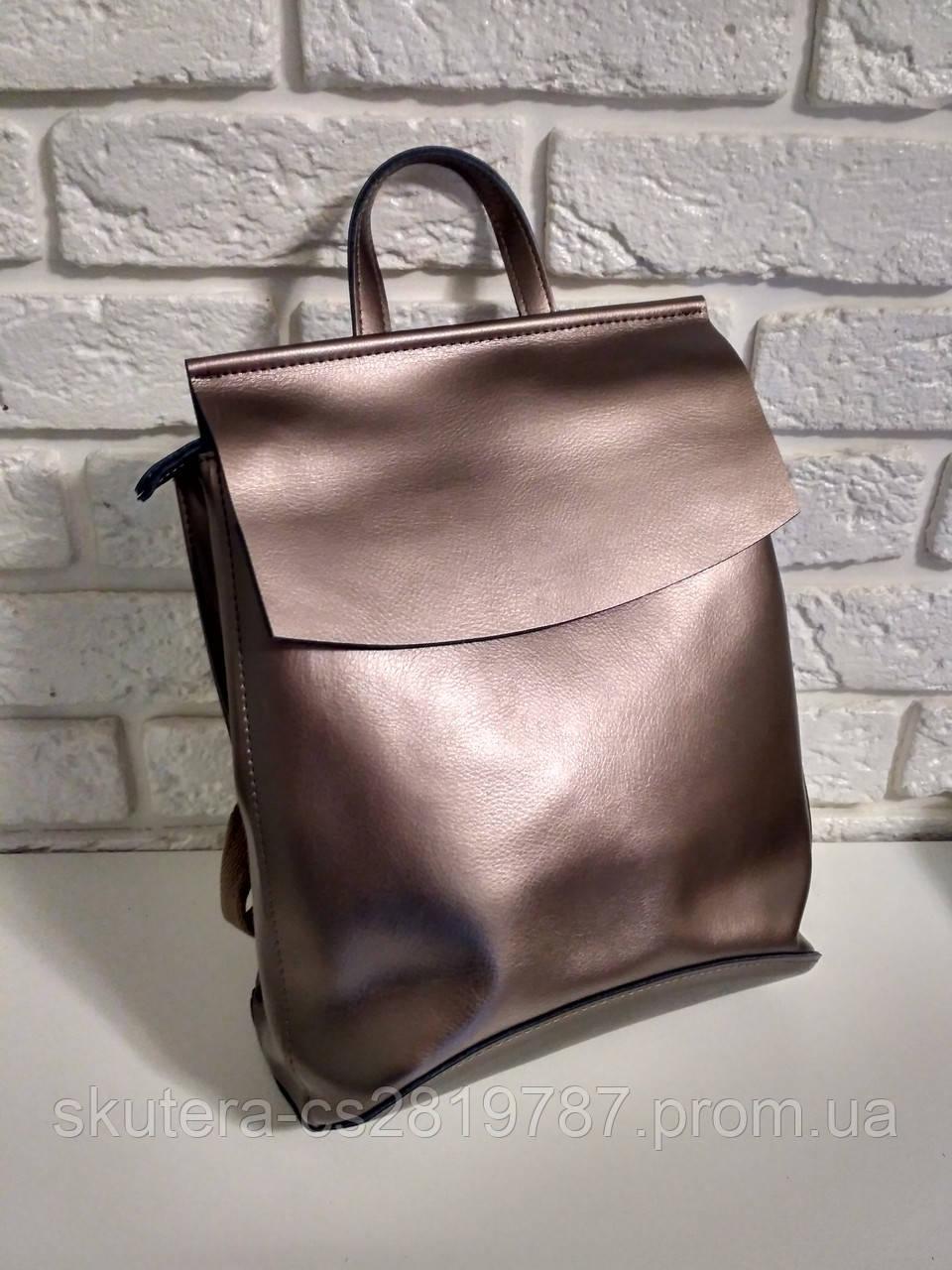 ef1ec533c534 Женский кожаный рюкзак-сумка(трансформер)
