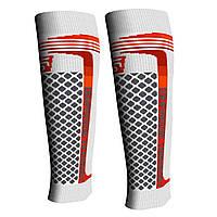 Компрессионные гетры, бандаж SPAIO Speed Support Elite белый/красный