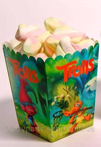 Коробочка для сладостей Тролли Trolls