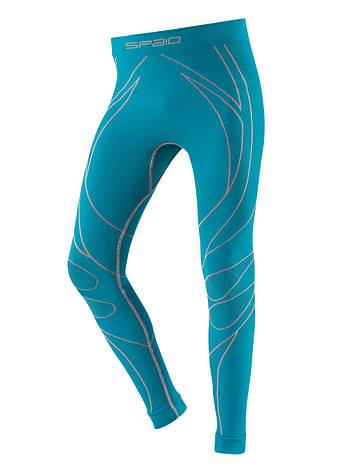 Термобелье штаны, тайтсы детские SPAIO Thermo W01 бирюзовый, фото 2