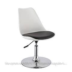 Кресло барное Home4You ARON  white - black