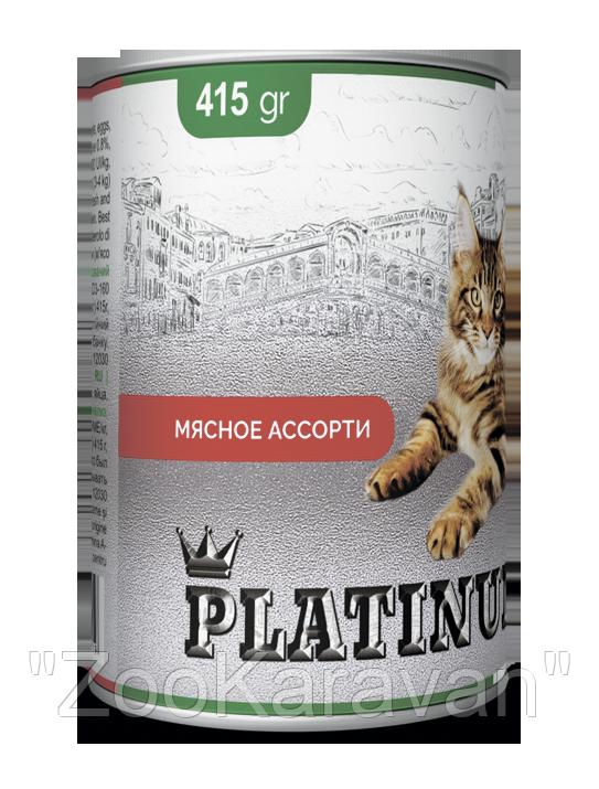 PLATINUM Meat мясной сбалансированный корм для кошек