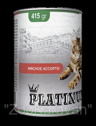 PLATINUM Meat мясной сбалансированный корм для кошек , фото 2