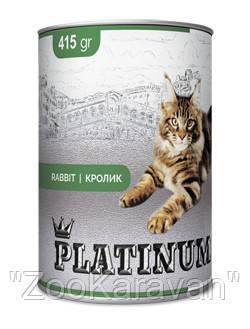 PLATINUM Rabbit мясной сбалансированный корм  для кошек