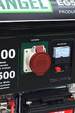 Генератор Бензиновый IRON ANGEL EG 5500E3 фазы, фото 3