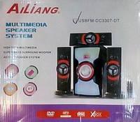 Акустическая система ALLIANG USB Fm DC 3307-DT