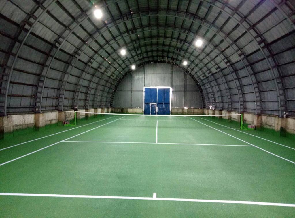 Спортивное покрытие для тенниса