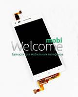 Дисплей Huawei Ascend G6-U10 Ascend,P7 Mini (L11,L22,L33) with touchscreen white orig