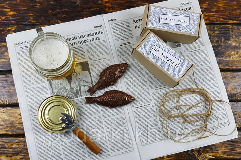 Шоколадная рыба.Подарок рыбаку, фото 1