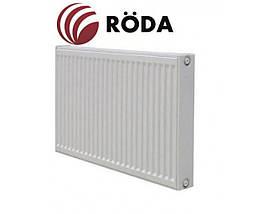 Стальной радиатор RODA тип 22, высота 500мм боковое подключение, фото 3