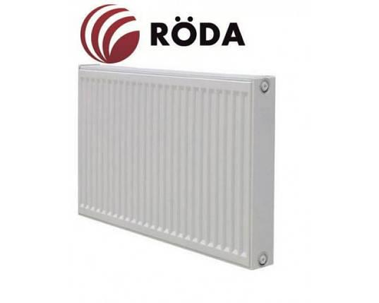 Стальной радиатор RODA тип 22, высота 500мм боковое подключение, фото 2