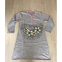 Рубашка Цветы на байке