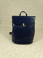 """Женский кожаный рюкзак-сумка (трансформер) """"Ириша Blue"""", фото 1"""