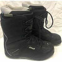 Сноубордические ботинки Stuf Heel Lock System б у c62b354ae9c18