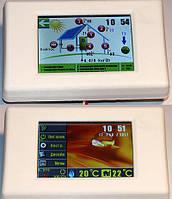 Беспроводной контроллер солнечного коллектора - гелиосистемы