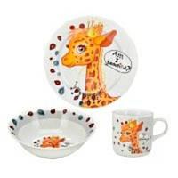 """Набор детской посуды """" Милый жираф """""""