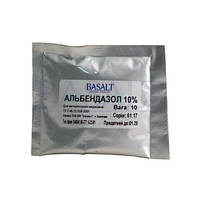 Альбендазол 10% 10 г (Базальт) ветеринарный препарат против гельминтов