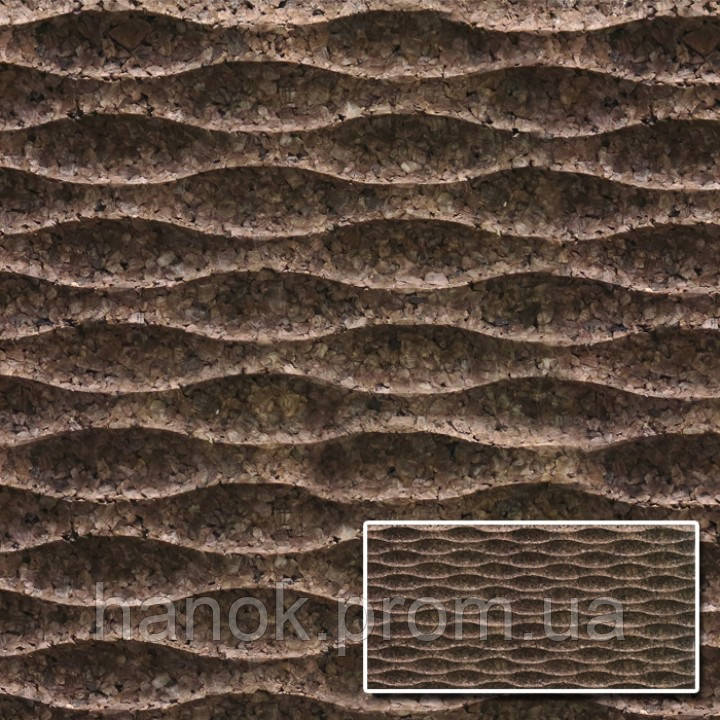 Агломерат корковий Amorim 3d Wave S1, фото 1