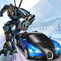 Робот-трансформер Bugatti 33см на радиоуправлении