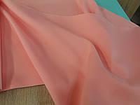 Ткань костюмная габардин ( персик 020)