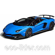 Автомобиль радиоуправляемый - LAMBORGHINI VENENO (голубой, 1:16, батарейки в комплекте)