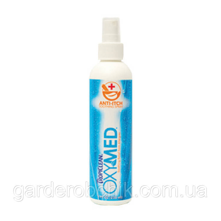 TROPICLEAN Oxy-Med Anti-Itch Spray СПРЕЙ ОТ ЗУДА Oxy Med Anti Itch Spray