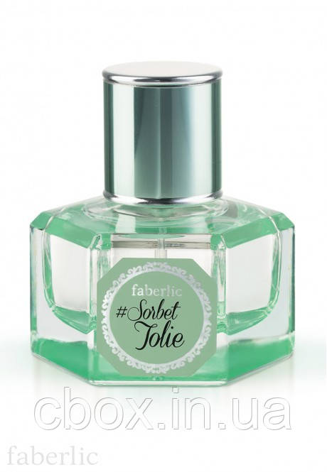 Парфюмерная вода женская #Sorbet Jolie, Faberlic, Сорбе Жоли, Фаберлик, 3310, 30 мл