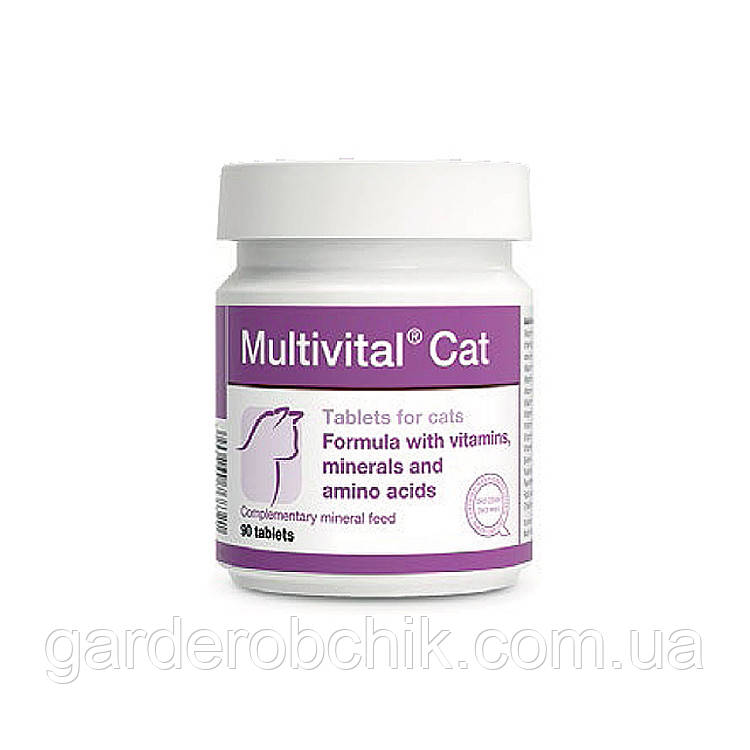 Multivital® Cat – Мультивітал Кет 90 шт.