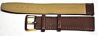 Ремешок 036 кожзам коричневый 20мм