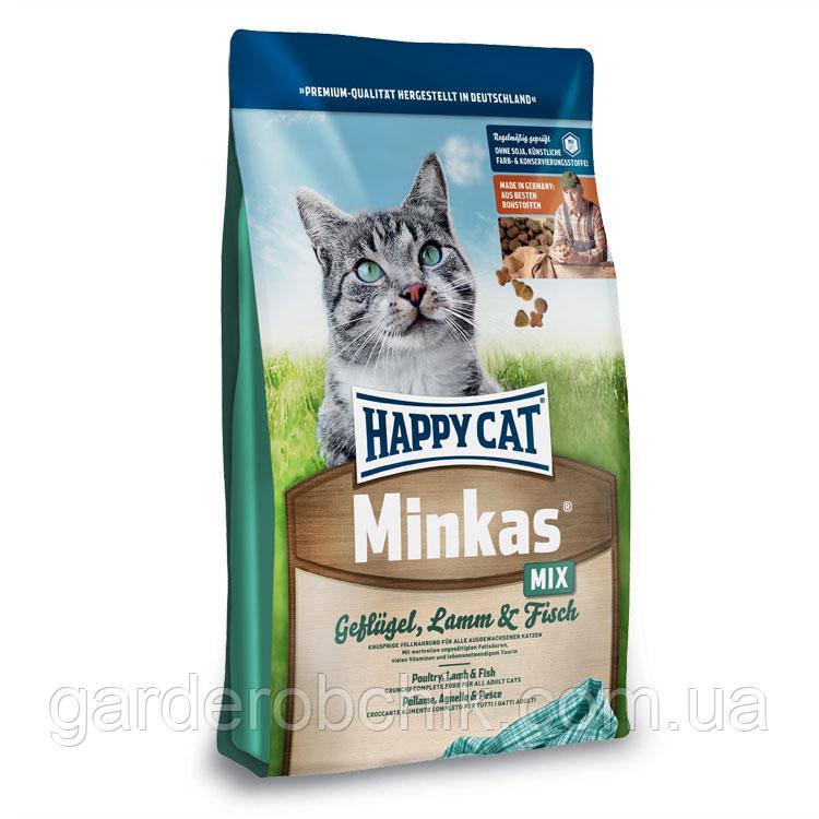 HAPPY СAT «MINKAS MIX» 10 кг