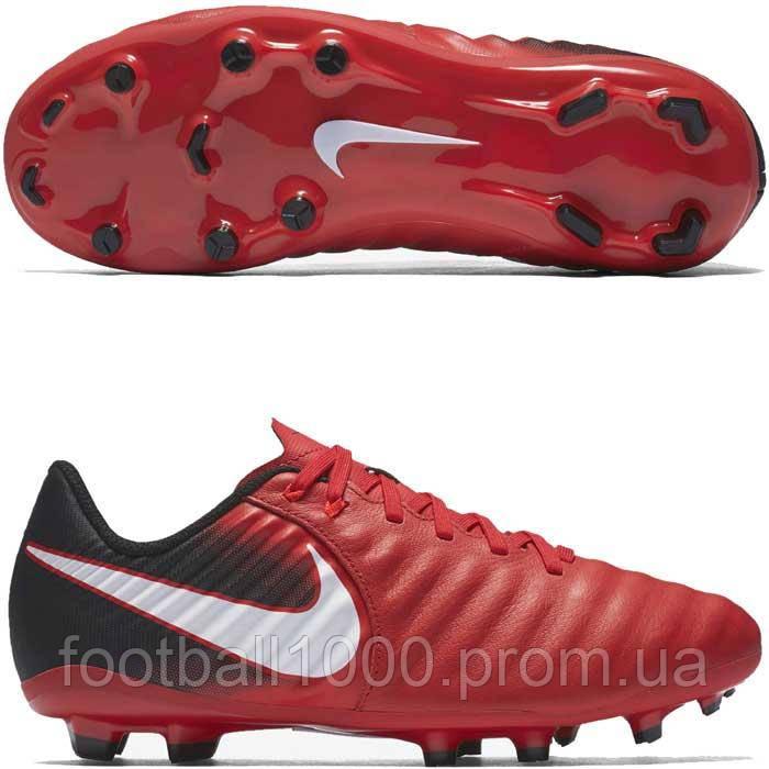 95a3f103 Детские футбольные бутсы Nike Tiempo Ligera IV FG 897725-616 - ГООООЛ! >>