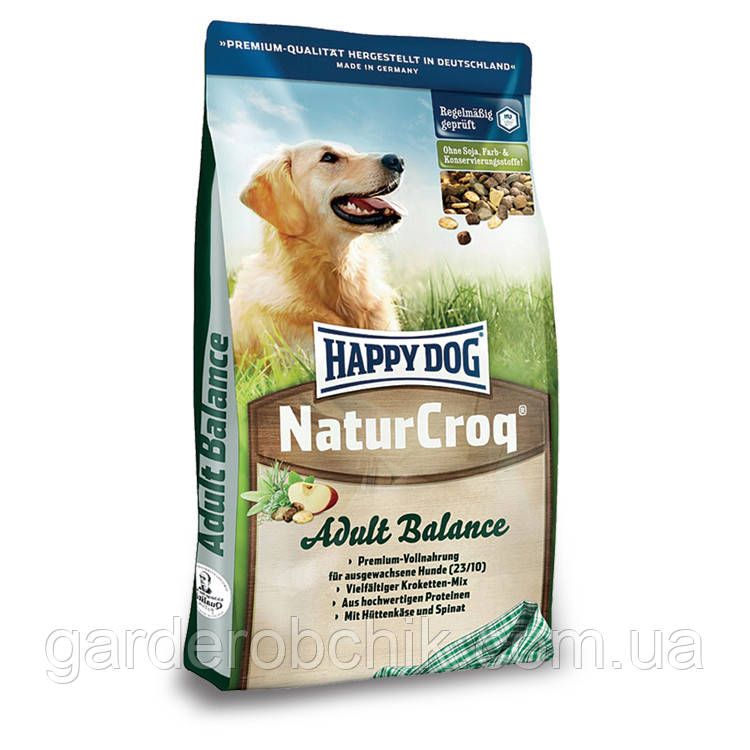 HAPPY DOG «NATUR CROQ BALANCE» 15 кг