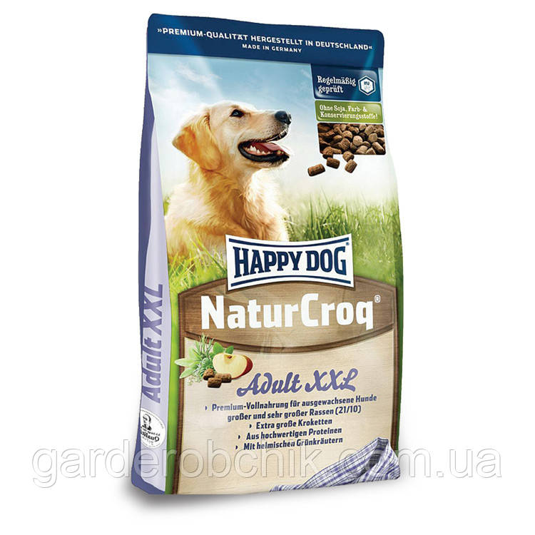 HAPPY DOG «NATUR CROQ XXL» 15 кг