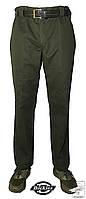 Мужские классические брюки Dickies зеленые со стрелками р. 36/32