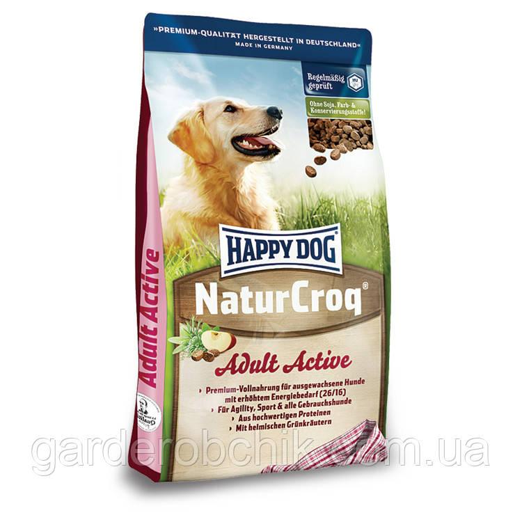 HAPPY DOG «NATUR CROQ ACTIVE» 15 кг