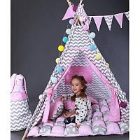 Палатка-вигвам для девочки Мечта Бонбон