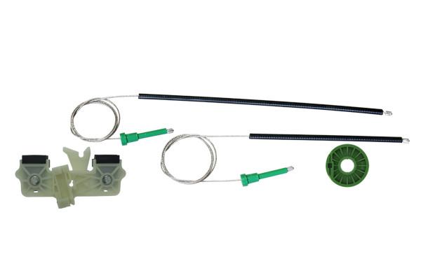 Ремкомплект механизма стеклоподъемника передней правой двери Ford Fiesta 2001-2009 1225776
