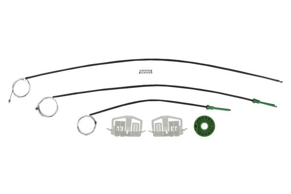 Ремкомплект механизма стеклоподъемника передней левой двери Ford Fiesta Coupe 2001-2009