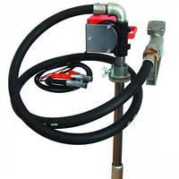 Бочковой насос для заправки и перекачки дизельного топлива PTP