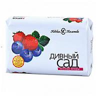 Дивный сад мыло туалетное Лесные ягоды, 90 г, Невская Косметика